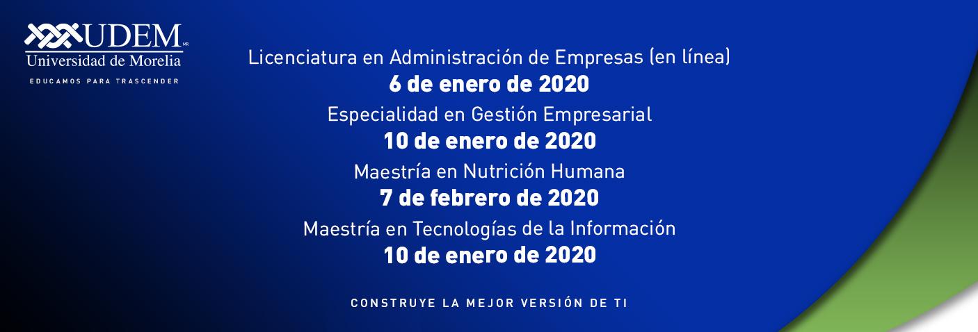 Universidad De Morelia Inicio